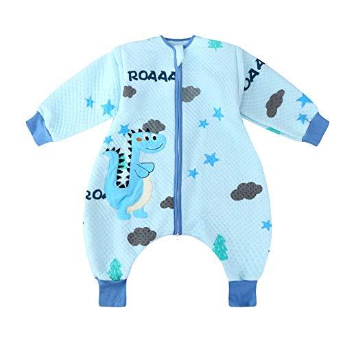 HS-01 babyslaapzak, kinderdelen om je benen te voorkomen, trappen, kan baby-take off der mouwen slaapzak, rits open katoen slaapzak