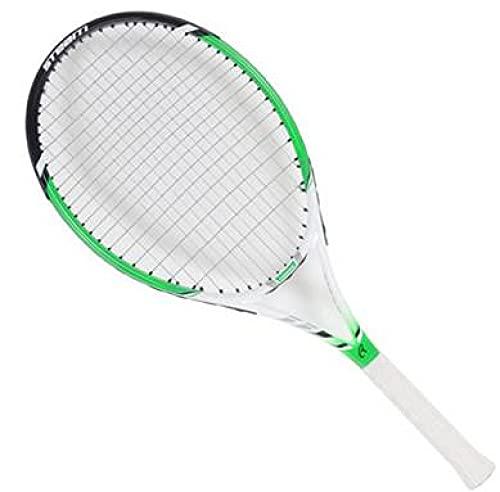 BERTY·PUYI Raqueta de Tenis Mejorada, Principiante Individual, Unisex, Fibra de Carbono con Rebote en línea Ultraligera-D