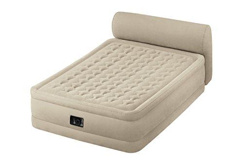 Intex - Colchón hinchable Intex fibertech +cabecero - 152x229x79 cm - 64460,...