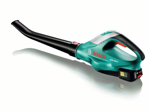 Bosch ALB 18 LI Cordless Leaf Blower + Battery and Charger (18 V, 1.8 kg, 210 km/h Airspeed)