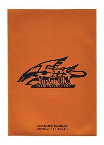 遊戯王 英語版 カードスリーブ メタリック オレンジ 40枚入り パック