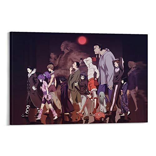 Póster de anime Hunter × Hunter Pakunoda, Machi Komacine, Nobunaga Hazama, Feitan Portor, Bonolenov Ndongo, Kortopi, Kalluto Zoldyck, Uvogin, Franklin, Murasaki Shizuku 20*30cm
