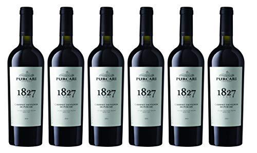 "Chateau Purcari | CABERNET SAUVIGNON DE PURCARI – Rotwein trocken aus Moldawien | Weinpaket 6 x 0.75 L + 1 Kugelschreiber ""Amigo Spirits"" gratis"