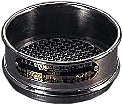 Newark Wire 0310021#100 Stainless Steel U.S. Standard Sieves, 150 um, 3""