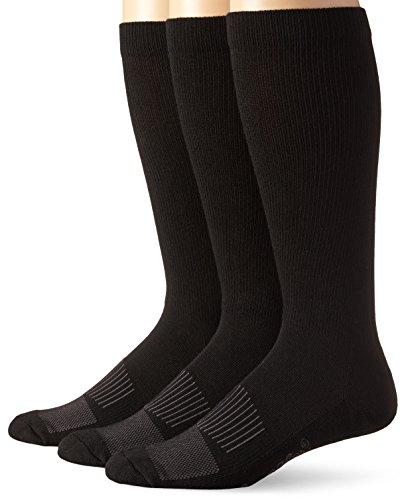 Wrangler Men's Western Boot Socks (Pack of 3),Black,Sock Size:Large(10-13)/Shoe Size: 9-13