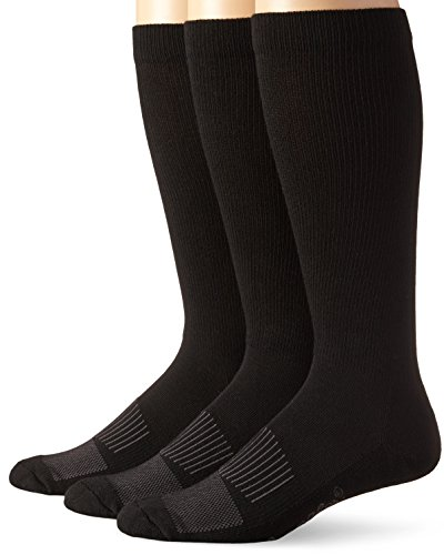 Wrangler Men's Western Boot Socks (Pack of 3),Black,Sock...