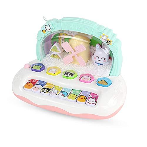 Baby Tastatur Spielzeug Musik Elektronische Orgel Lied Mehrere Modus umschalten Hamster Spielen Kunststoff Frühe Pädagogische Puzzle Spielzeug für Kinder Säuglingskleinkinder Tastatur Spielzeug