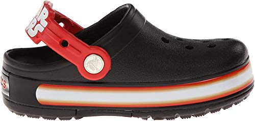 Crocs CrocsLights Star Wars, Jungen Clogs, Schwarz (Black/Flame), 24/25 EU