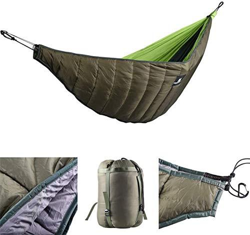Winter Hammock Underquilt, Lightweight Camping Warm Hammock Under Quilt Full Length Under Blanket for Backpacking Backyard Outdoor Sleeping Gear