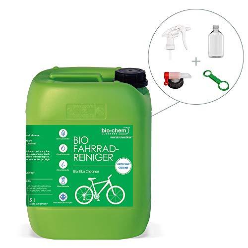 Bio-Chem Fahrradreiniger Frame Shampoo Rahmenreiniger 5 L Kanister + Zubehör