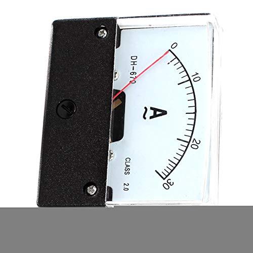 Aexit AC 0-30A 2 Klasse Genauigkeit Analog Panel Meter Amperemeter Messgerät DH-670 4 stücke (388b3ef299175ad83de9d670d2ab7fff)