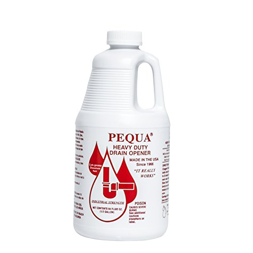 drain cleaner for standing waters PEQUA INDUSTRIES P-10264 64OZ Pequa Drain Opener, P-10264 64 oz Pequa Drain Opener, P-10264 64 oz Pequa Drain Opener