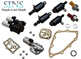 SINS - Fit Transmission Solenoid Kit 28260-RG5-004 28250-R90-003 28400-RPC-003 28500-RPC-004 28600-RG5-013 28600-RG5-004