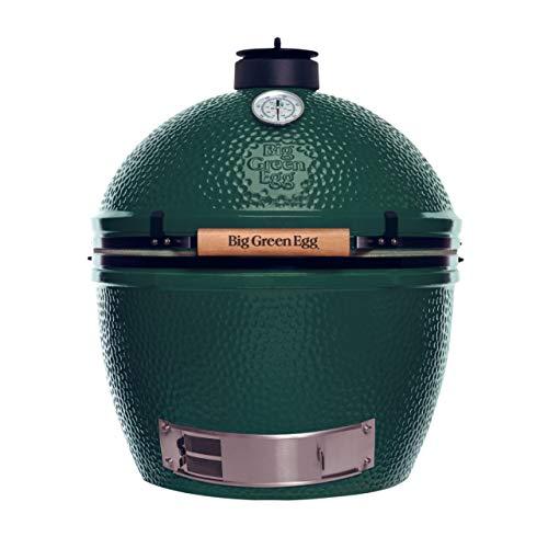 Big Green Egg XL - Barbacoa de cerámica (tamaño XL, 61 cm, para hasta 10 personas)