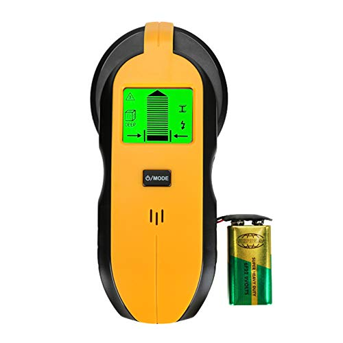 Bestcool 3-in-1 ortungsgerät stromleitung, Multifunktions leitungssucher mit LCD-Display für Stud Scan & Metal Scan & AC-Kabel Wandscanner für die Erkennung von Holz-AC-Draht-Metallbolzen