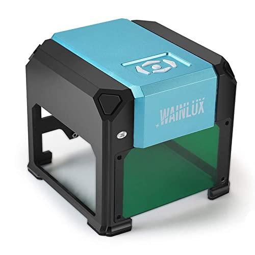 Laser Engraving Machine, 3000mW Mini Desktop Laser Printer Engraver...