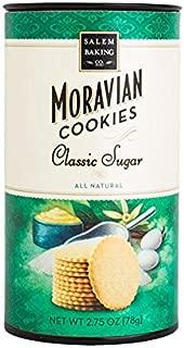 Moravian Sugar Cookies - 24, 2.5oz