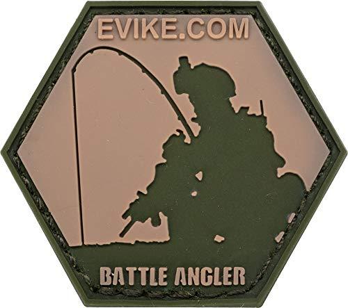 Evike Operator Profile PVC Hex Patch Fishing Series (Style: Battle Angler - Battle Ready)