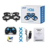 fITtprintse H36 Mini Drone Quadricotteri RC Drone con modalità Senza Testa One Key Return Sei Assi...