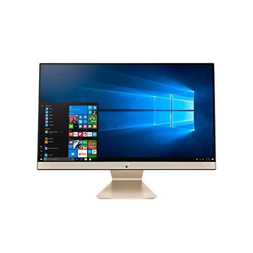 """ASUS AiO All-in-One Desktop PC, 23.8"""" FHD Anti-glare Display, AMD Ryzen 3 3250U Processor, 8GB DDR4 RAM, 256GB PCIe SSD, Windows 10 Home, Kensington Lock, V241DA-AB301"""