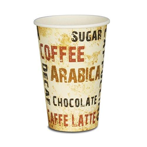 pack2go Premium Kaffeebecher, Coffee to go Becher Barista - 12oz, 300ml, Pappbecher, 1000 Stück