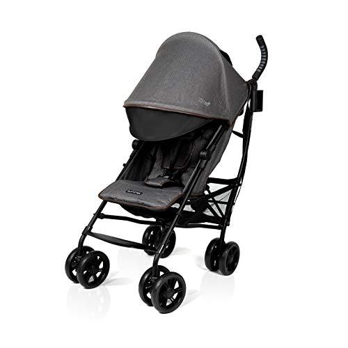 Summer Infant 3Dlite+ Convenience Stroller- 31993, Charcoal Herringbone