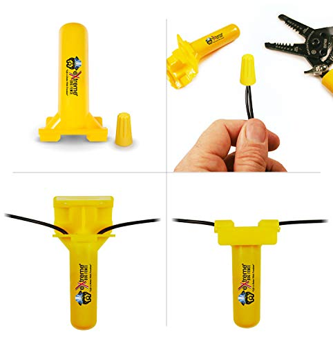 Extreme Dog Fence Dog Fence Wire Splices (8 Pk) - Install, Repair or Expand Any In Ground Dog Fence Wire with Electric Fence Wire Splice Kits or Add to Your Dog Fence Wire Repair Kit