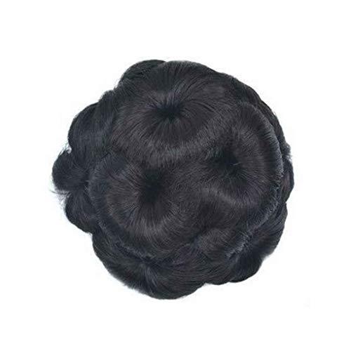 Elenxs Multi Couleurs Messy Wavy cheveux bouclés Extensions extensions de cheveux courts, Chouchous Clips Fleurs Chignons Ponytail postiches