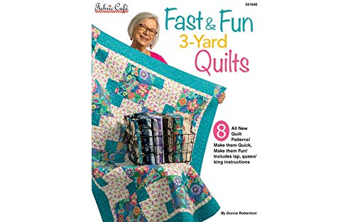 Fabric Cafe Fast & Fun 3-Yard Quilts, None