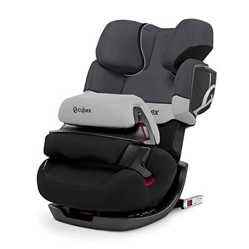 CYBEX Silver 2-in-1 Kinder-Autositz Pallas 2-Fix, Für Autos mit und ohne ISOFIX, Gruppe 1/2/3 (9-36 kg), Ab ca. 9 Monate bis ca. 12 Jahre, Gray Rabbit