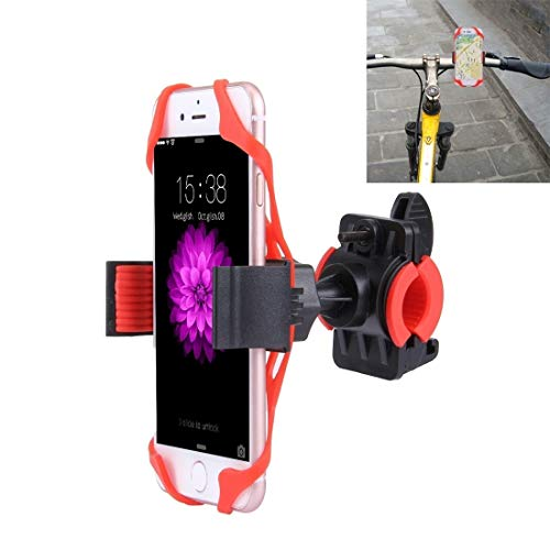 Bike Rack 360 Degree Rotation Bicycle Phone Holder with Flexible Stretching Clip for iPhone 7  Hawaii
