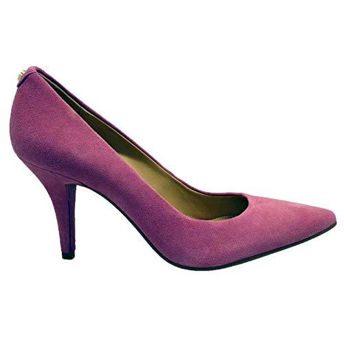 Zapatos Mujer Salones Peep_Toes Michael Kors MK-Flex Mid PUM Nude 36I5