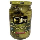Mt. Olive Kosher Hamburger Dill Chips 16 oz