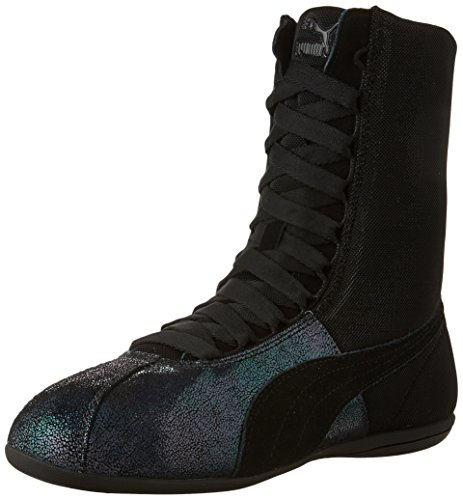 PUMA Women's Eskiva Hi Deep Summer Black Sneaker 8.5 B (M)
