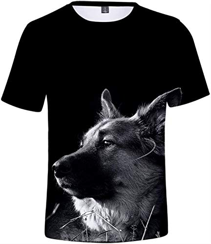 Unisex Camiseta Estampada Hombre Divertidas Manga Corta T Shirt Funny XS-4XL (Color : E, Size : XXL)