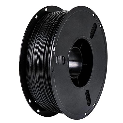 3D Printer Filament PLA Carbon Fiber Filament Carbon Fiber Reinforced Polylactic Acid Material Black Filament 1.75mm 200g