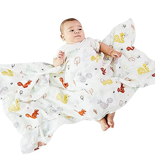 Persdico Toallas para bebés recién Nacidos Estilo Fino Toalla de baño súper Suave para recién Nacidos Manta Abrigo cálido para Dormir para bebés