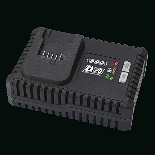 Draper Tools - Kit per idropulitrice ad alta pressione con 1 batteria 2 Ah D20 20 V