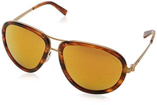 Ralph Lauren 0Rl7053 Gafas de sol, Stripped Havana, 59 Unisex