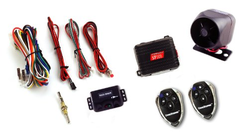 Crimestopper SP-101 Deluxe 1-Way Alarm and Keyless Entry...