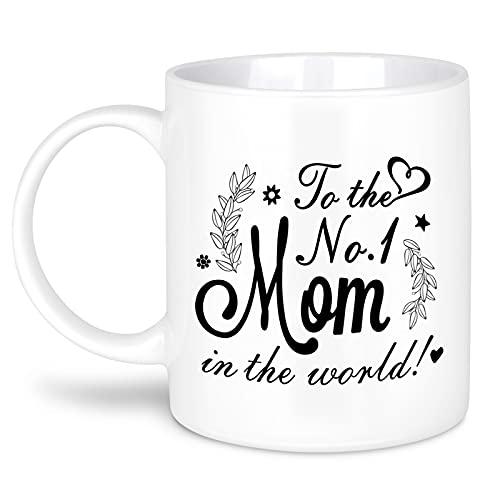 MIAHART Mom Mug Festa della mamma Tazza da caffè Compleanno Regali per la festa della mamma da Figlia Figlio