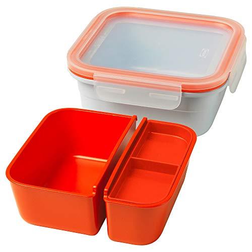 IKEA 803.887.14 365+ Lunchbox mit Behältern, eckig