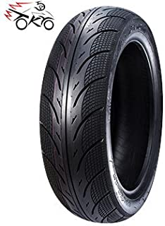 """5A01 3.50-10 Scooter Tubeless Tire, 51J, Front/Rear Motorcycle/Moped 10"""" Rim"""