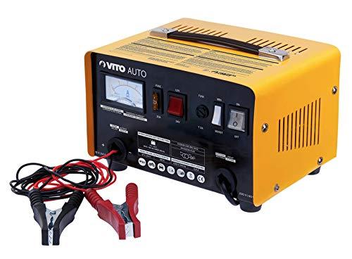VITO PRO Batterieladegerät Ladegerät 12V 24V Batterie 12A Auto Boot Motorrad