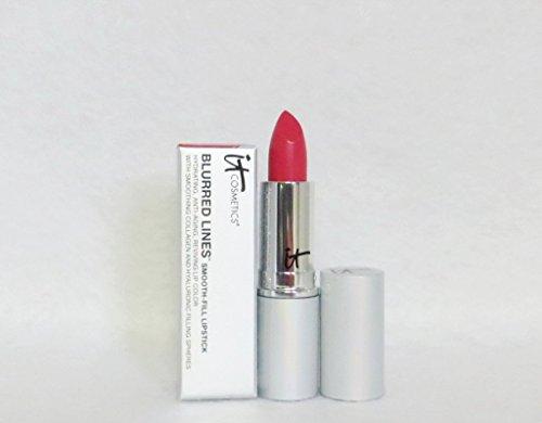 It Cosmetics Blurred Lines Smooth Fill Lipstick Anti Aging Reviving Lip Color - Je Ne Sais Quoi