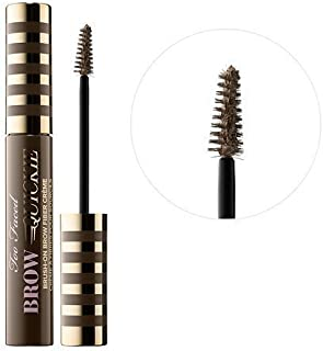 Too Faced Brow Quickie Brush-On Brow Fiber Gel in Universal Taupe
