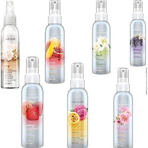 Avon Naturals Raumduft-Spray, 100ml, verschiedene Düfte, 5 Stück