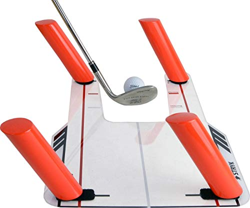 STRYK Easy Path Golf Swing Training Aid with Acrylic Base and 4 Path Rods