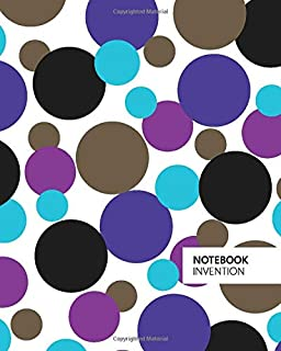 Invention Notebook: (Light Edition) Fun Christmas notebook 192 ruled/lined pages (8x10 inches / 20.3x25.4 cm / Large Jotter)