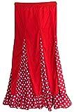 La Señorita Falda Rojo con Lunares Blanco 140-146